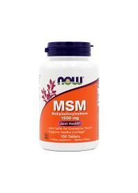 나우푸드 MSM 1500 mg 100 타블렛