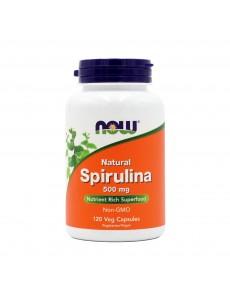 나우푸드 스피루리나 500 mg 120 베지캡슐