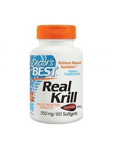 닥터스베스트 리얼 크릴 오일 350 mg 60 소프트젤