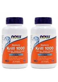 나우푸드 넵튠 크릴오일 1000 mg 60 소프트젤 2개세트