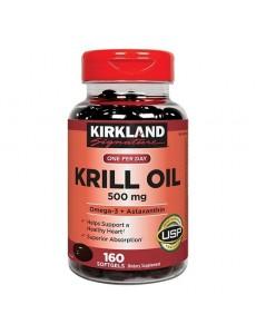 크릴오일 500 mg 160 소프트젤